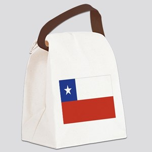 flag_chile Canvas Lunch Bag