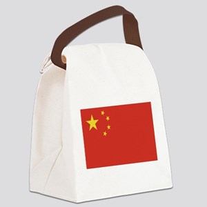 flag_china Canvas Lunch Bag