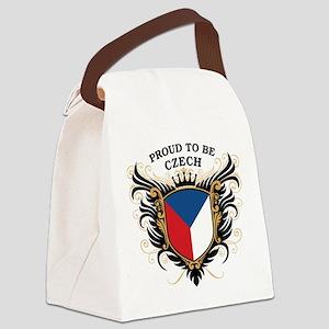 proud_czech Canvas Lunch Bag