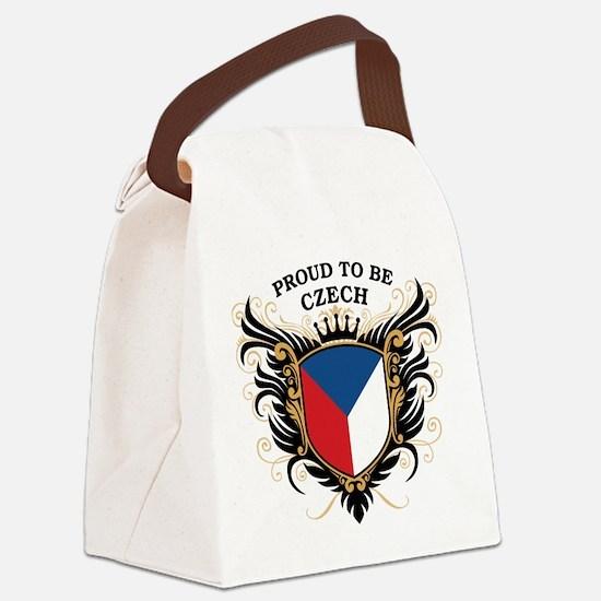 proud_czech.png Canvas Lunch Bag