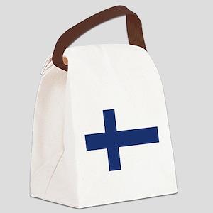 flag_finland Canvas Lunch Bag