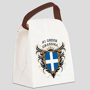 n1_greek_grandma Canvas Lunch Bag