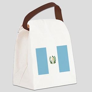 flag_guatemala Canvas Lunch Bag