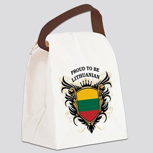 proud_lithuanian Canvas Lunch Bag