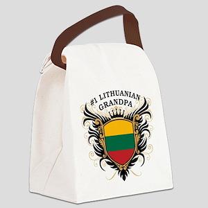 n1_lithuanian_grandpa Canvas Lunch Bag
