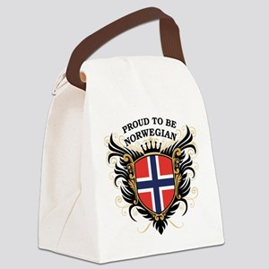 proud_norwegian Canvas Lunch Bag