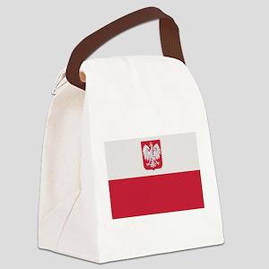 flag_poland Canvas Lunch Bag