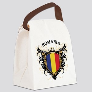 Romania Canvas Lunch Bag