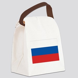 3-flag_russia Canvas Lunch Bag