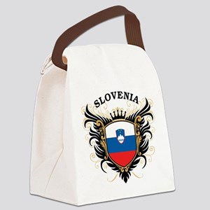Slovenia Canvas Lunch Bag