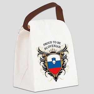 proud_slovenian Canvas Lunch Bag