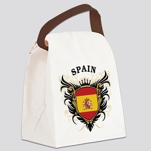 Spain Canvas Lunch Bag