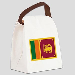 flag_srilanka Canvas Lunch Bag