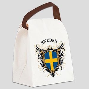Sweden Canvas Lunch Bag