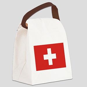 flag_switzerland Canvas Lunch Bag