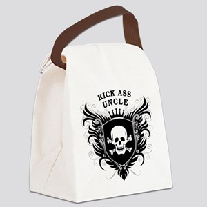 Kick Ass Uncle Canvas Lunch Bag