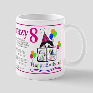 Crazy8 Birthday Mug