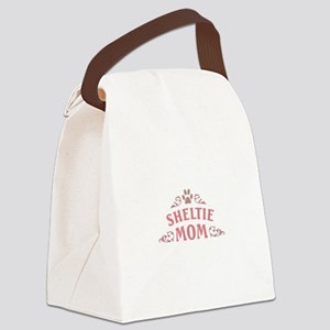 Sheltie Mom Canvas Lunch Bag