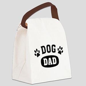 Dog Dad Canvas Lunch Bag