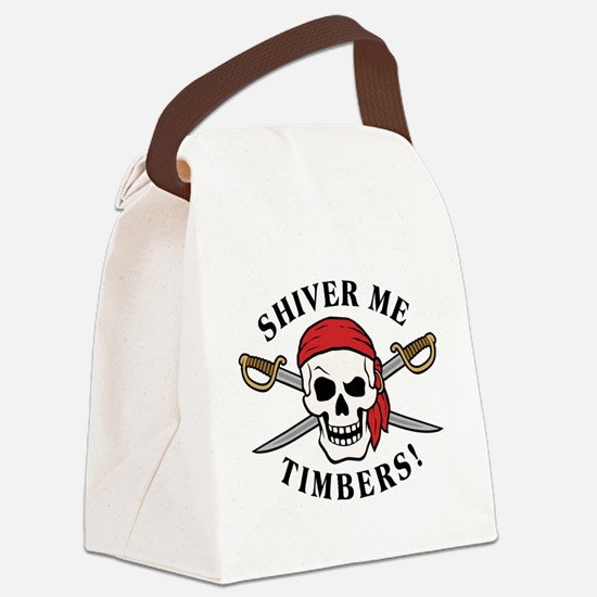 Shiver Me Timbers! Canvas Lunch Bag
