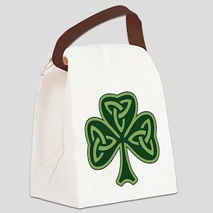 Trinity Shamrock Canvas Lunch Bag