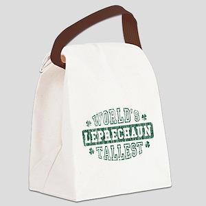 Tallest Leprechaun 2 Canvas Lunch Bag