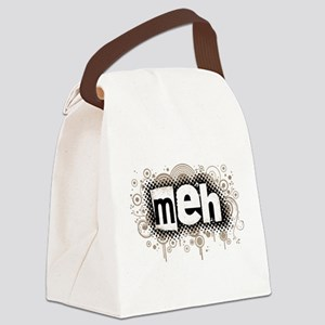 3-meh Canvas Lunch Bag