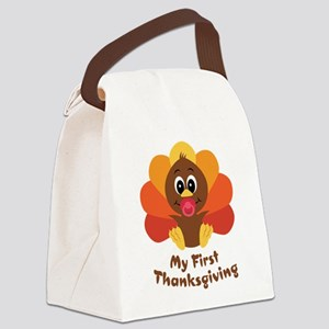 baby_turkey_1st Canvas Lunch Bag