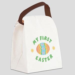 1st_easter_egg Canvas Lunch Bag