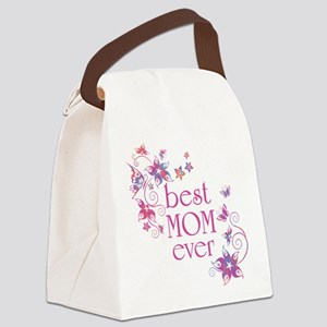 Best Mom Ever 3 Canvas Lunch Bag