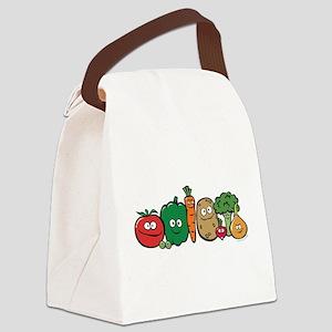 vegeterian Canvas Lunch Bag