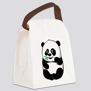 lil_panda Canvas Lunch Bag