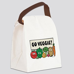 3-vegs Canvas Lunch Bag