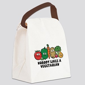 nobody_vegeterian Canvas Lunch Bag