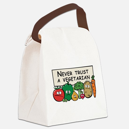 3-vegs_never.png Canvas Lunch Bag