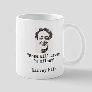 Harvey Milks Hope quote Mugs