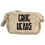 GrogHeads Text Logo Messenger Bag