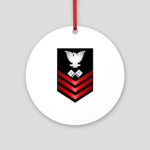 Navy Signalman First Class Ornament (Round)