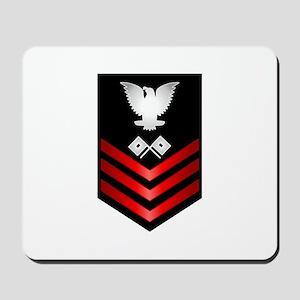 Navy Signalman First Class Mousepad
