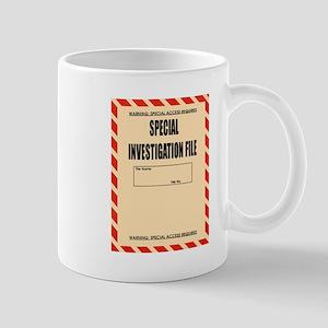 Special Investigation File Mug