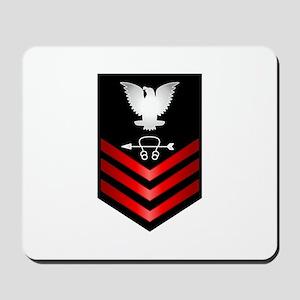 Navy Sonar Technician First Class Mousepad