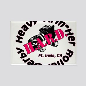Heavy ArmHer Roller Derby Logo Rectangle Magnet