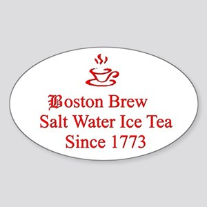 Boston Brew Sticker (Oval)