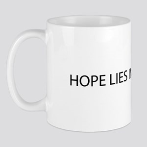 Hope lies in the proles Mug