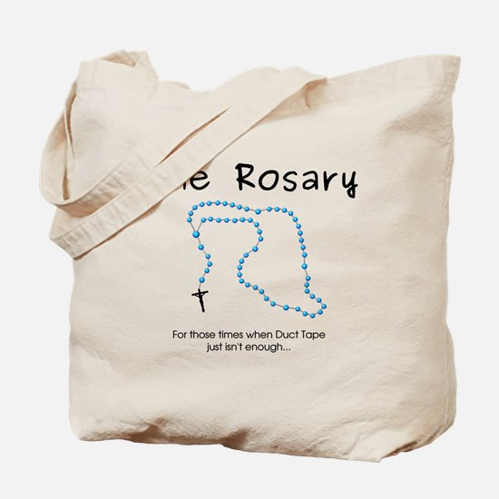 The Power of the Rosary Tote Bag