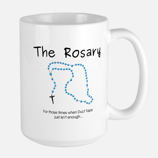 The Power of the Rosary Large Mug