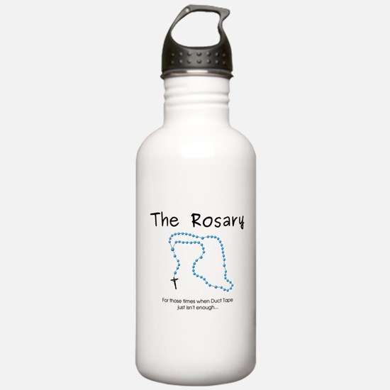 The Power of the Rosary Water Bottle