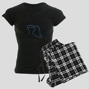 The Power of the Rosary Women's Dark Pajamas