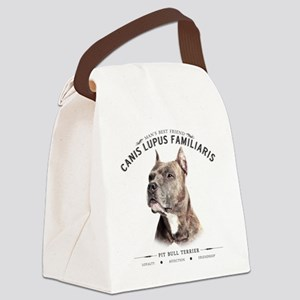Mans Best Friend Canvas Lunch Bag