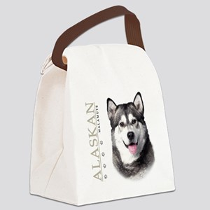 portrait1 Canvas Lunch Bag